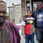 Yomi Fabiyi Visits Aishat Abimbola's Two Kids In Canada ( Photos)