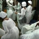 "Video: Moment White Garment Church Go Agog With ""Zanku"" Dance During Vigil"
