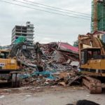Cambodian building collapse kills seven, with dozens feared buried (see photos)