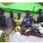 My Husband Gave It To Me – Nursing Mother Apprehended With AK47 Rifle In Her Traveling Bag Says