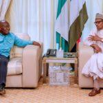 Buhari Meets Ghanian President In Abuja