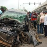 Motorcyclist crushed to death after defying traffic light in Ekiti