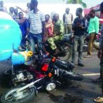 Two Passengers Die As Okada Rams Into Truck In Ogun
