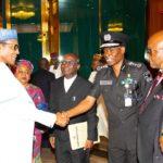 Buhari Receives Report On SARS Reform