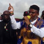 Kanu rallies support for Biafra in US, Canada