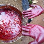 Nigerian Lady Raises Alarm Over Fake Palm Oil Being Sold In Market, Shares Photos
