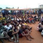 Lagos Police Launch 'Operation Crush', Parade 202 Suspected Criminals (photos)