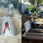 Burial Stalls As Man Lay Inside Grave He Dug Due To Incomplete Payment  (photos)