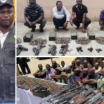 Notorious Dealers Smuggling Arms Into Nigeria Arrested, Over 6000 Rounds Of Ammunition, Ak47 Rifles And Pistols Recovered (PHOTOS)