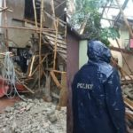 Another Building Collapses In Lagos As Three Escape Death (photos)