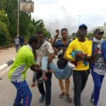 BREAKING: Again, Shiites protesters, Police clash in Abuja (photos)