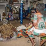 Photos: Beninese Offer Special Voodoo At A Shrine To Pray For Benin Success In Nations Cup Match