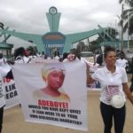 Protesters Storm RCCG, Ask Pastor Adeboye To Speak Up Against Injustice In Nigeria (photos)