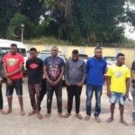 EFCC Arrests Nine Suspected Internet Fraudsters in Edo (photos)
