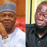 """I Am Smarter Than Bukola Saraki Politically"" – Adams Oshiomhole Brags"