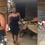Meet Nana Akosua Dansoa, The Beautiful Ghanaian Lady Who Helps Her Mum To Sell Cassava (Photos)