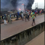 Photos & Video: Two die, over 30 vehicles burnt in Lagos pipeline explosion
