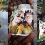 Photos: Nigerian Couple Photo Found Inside A Bottle During An Excavation In River State
