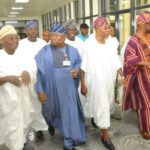 Photos: Aregbesola arrives NASS for ministerial screening