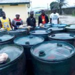 Police apprehend six suspected crude oil thieves
