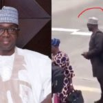 Kwara State Governor AbdulRahaman Queue To Board A Commercial Flight