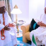 President Buhari Meets Ooni Of Ife In Abuja (Photos)