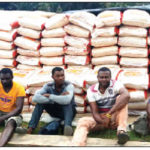 Navy Arrests 11 Suspected Smugglers, Seizes 483 Bags Of Smuggled Rice In Akwa Ibom