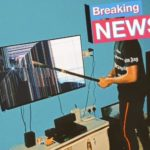 Photos: Angry Nigerian Man Breaks His LED TV After Loosing A Bet Of N700k During Nigeria Vs Algeria