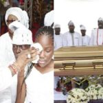 Photos From The Burial Of Senator Dino Melaye's Mum, Madam Comfort Melaye In Kogi State