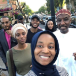 Photos: Emir of Kano, Muhammad Sanusi II Takes Family To The Cinema In UK