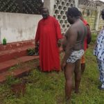 Man Stripped At Benin Monarch's Palace For 'Impersonation'