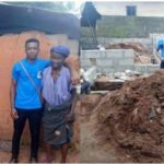 """Best Giveaway"" – Nigerians React After A Lady Builds House For Old Woman Living In Mud House (photos)"