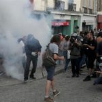 G7 Summit: Protesters, Police clash
