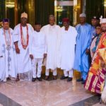 SEE PHOTOS: FULL TEXT OF WHAT BUHARI TOLD SOUTH-WEST TRADITIONAL RULERS ON INSECURITY