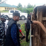 PHOTOS: Investigative Panel Visits Scene Where Police Officers Were Killed By Soldiers In Taraba