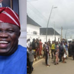 Moment Epe Residents Chased EFCC Operatives Out Of Ambode's House In Lagos (Video & Photos)
