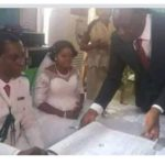 NEVER TOO LATE WITH GOD – 58 Year-Old-Man & 52-Year-Old Woman Tied Knot For The First Time (Photos)