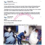 10-year-old Orphan Who Was Raped At Benue IDP Camp, Delivered A Baby Girl (Photos)