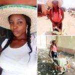 Pretty Nigerian Lady Who Sells Food On Wheel-Barrow Becomes Internet Sensation (Photos)