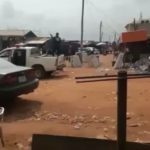 SARS Officers Ignited The Wrath Of Benin Residents For Assaulting A Young Man (VIDEO)