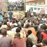 Lagos Taskforce intercepts truck with 123 men, 48 bikes (photos)