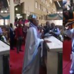 Video: Senator, Dino Melaye Leading A Worship Session In The Apostolic Church In Ketu, Lagos