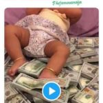 See Presidential Aide Reaction As Igbo Man Turns Bundles Of Dollars Into Daughter's Bed (Video)