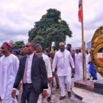 Aregbesola assumes duty, visits NSCDC headquarters (photos)