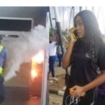 Passengers Flee As Fire Breaks Out At Sam Mbakwe Airport, Owerri Disrupting Flight – PHOTOS/VIDEO