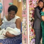 First Photo of Toyin Abraham and Her New Born Baby Son