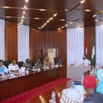 PHOTOS: Buhari, security chiefs meet in Aso Rock