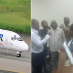 Dana Air Customers Stranded In Uyo As The Airline Delays And Finally Cancels Lagos Bound Flight (Video)