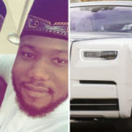 Governor's Son Show Off Expensive Rolls Royce (photos)