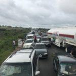 Nigerians Stranded As Protesters Block Abuja-Kaduna Expressway
